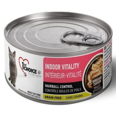 Консервы 1st choice для кошек курица с яблоками, Vitality