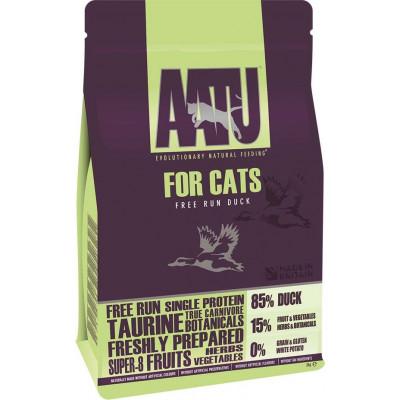 Корм AATU для кошек с уткой