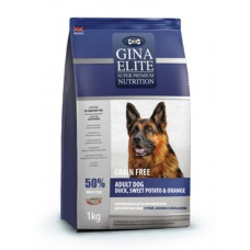 "Корм Gina Elite для собак ""Grain Free Adult Dog Duck, Sweet Potato, Orange"""