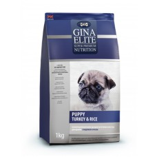 "Корм Gina Elite для щенков ""Puppy Turkey & Rice"""