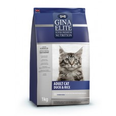 "Корм Gina Elite для кошек ""Adult Cat Duck & Rice"""