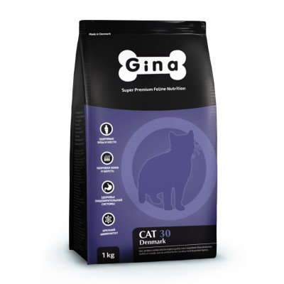 "Корм Gina для кошек ""Cat 30"""
