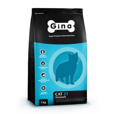 "Корм Gina для кошек ""Cat 33"""