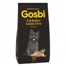 Корм Gosbi для собак мелких пород, с лососем и ягненком