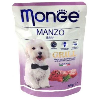 Корм Monge Grill для собак говядина