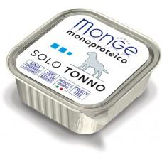 Корм Monge Monoproteico для собак паштет из тунца