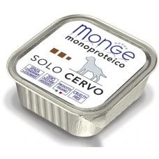 Корм Monge Monoproteico для собак паштет из оленины