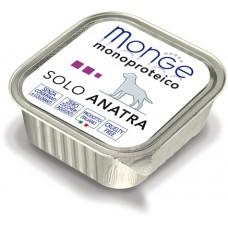 Корм Monge Monoproteico для собак паштет из утки