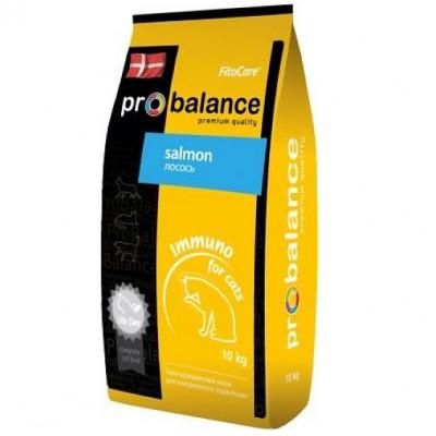 Корм ProBalance для кошек Immuno Salmon с лососем