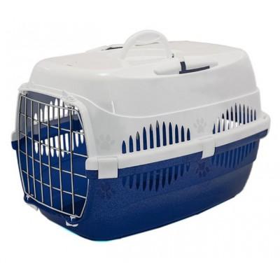 ZooM переноска для кошек и мелких собак с металлической дверцей 33*49*32 см