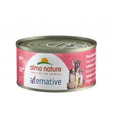 "Корм Almo Nature Alternative для собак ""Ветчина и говядина брезаола"""