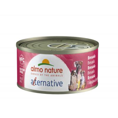 "Корм Almo Nature Alternative для собак ""Говядина брезаола"""