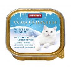 Паштет Animonda для кошек с олениной и клюквой