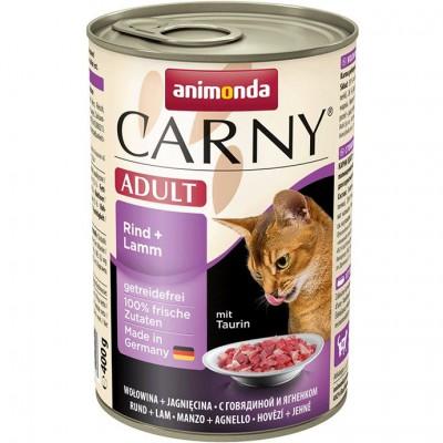 Консервы Animonda для кошек с говядиной и ягненком
