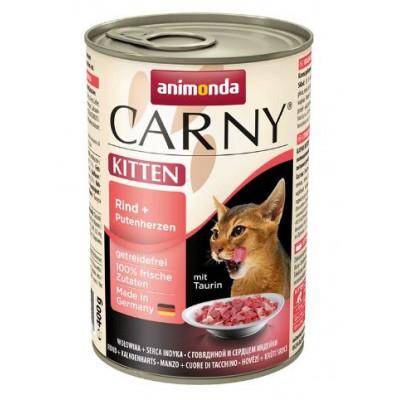 Консервы Animonda для котят с говядиной и сердцем