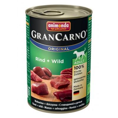 Animonda Gran Carno корм для собак с говядиной и дичью