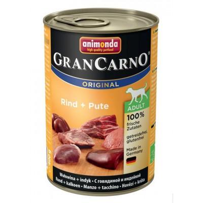 Animonda Gran Carno корм для собак с говядиной и индейкой