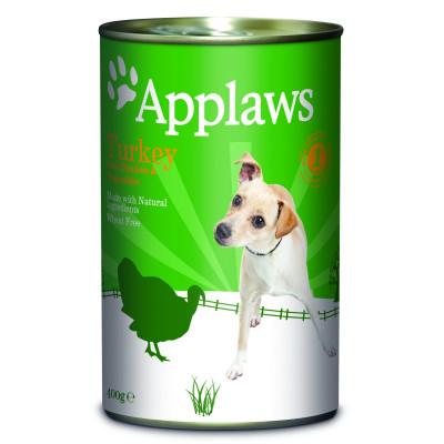 Корм Applaws для собак с индейкой, курицей и овощами