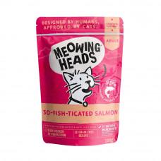 """Паучи Barking Heads для кошек и котят с лососем, курицей и говядиной """"Фиш-гурман"""""""