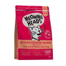"""Корм Barking Heads для кошек с лососем, курицей и рисом """"Фиш-гурман"""""""