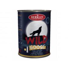 Консервы для собак и щенков Berkley Wild гусь с цукини, яблоками и лесными ягодами №1