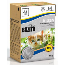 Консервы Bozita для котят кусочки курицы в желе