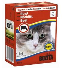 Bozita корм для кошек с говядиной в соусе
