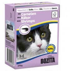 Bozita корм для кошек с креветками в соусе