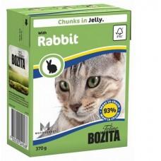 Bozita корм для кошек с кроликом в соусе