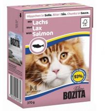 Bozita корм для кошек с лососем в соусе