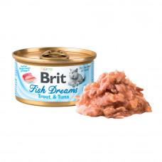 Brit Fish консервы для кошек форель и тунец