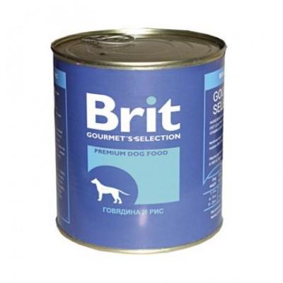 """Brit корм для собак """"Говядина и рис"""""""