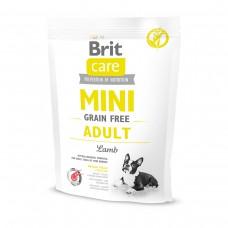 Корм Brit Care MINI для собак миниатюрных пород с ягненком