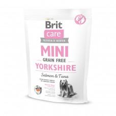 Корм Brit Care MINI Yorkshire для йоркширских терьеров c лососем и тунцом