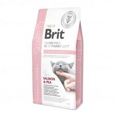 Корм Brit Veterinary Diet Hypoallergenic гипоаллергенная диета, лосось
