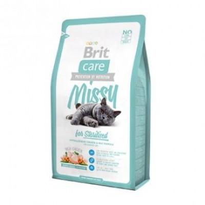"Корм Brit Care для стерилизованных кошек ""Missy"""