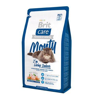 "Корм Brit Care для кошек живущих в квартире ""Monty"""