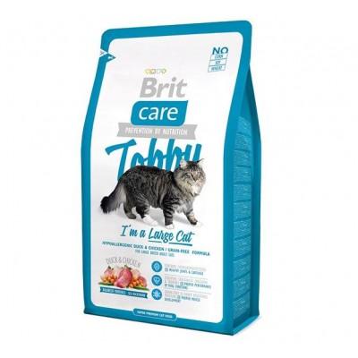 """Корм Brit Care для крупных кошек """"Tobby"""""""