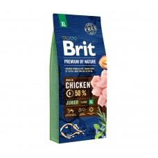 Корм Brit Premium by Nature для щенков гигантских пород Junior XL