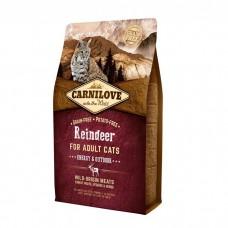 Корм CarniLove для кошек с олениной
