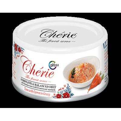 Консервы Cherie для кошек тунец с морковью в соусе (здоровье мочеполовой системы)