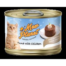 Консервы Mew Planet для кошек паштет из красного тунца с курицей
