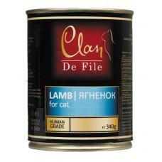 Clan De File консервы для кошек с ягненком