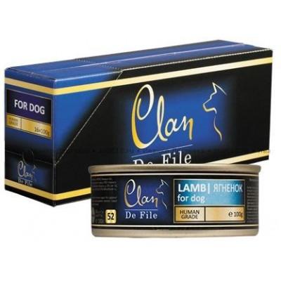 """Clan De File консервы для собак """"С ягненком"""""""