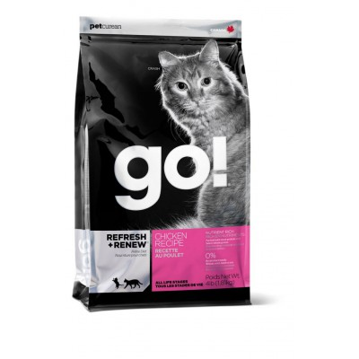 Корм GO! Natural Holistic для котят и кошек с курицей, фруктами и овощами
