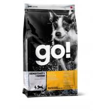 Корм GO! для щенков и собак с уткой и овсянкой