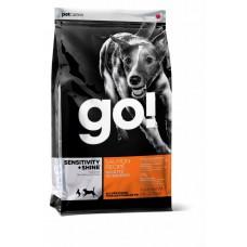 Корм GO! для щенков и собак со свежим лососем и овсянкой