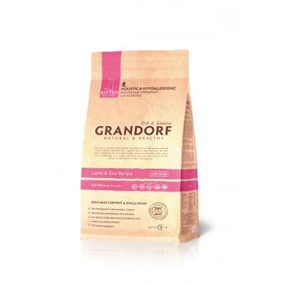 Корм Grandorf для котят с ягненком и рисом
