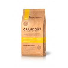 Корм Grandorf для собак мелких пород 4 вида мяса: индейка, ягненок, утка, кролик