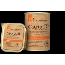 Консервы Grandorf для собак с индейкой